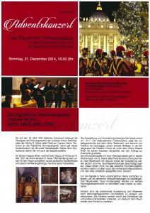 141221 Adventskonzert Campo Santo Flyer