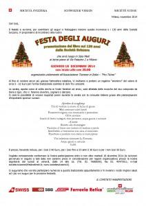 18.12.2014 INVITO CENA DEGLI AUGURI - mMilano