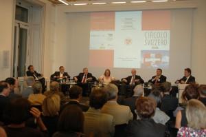 2011-10-03: Roma, tavola rotonda con Candidati al Consiglio federale