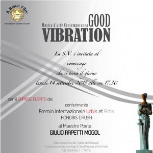 2015 Good Vibrations - mostra Stortiglione